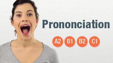 Cours en ligne - Prononciation