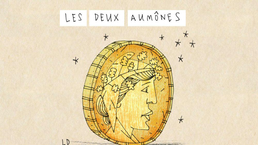 Histoire Audio Les Deux Aumones Parlez Vous French
