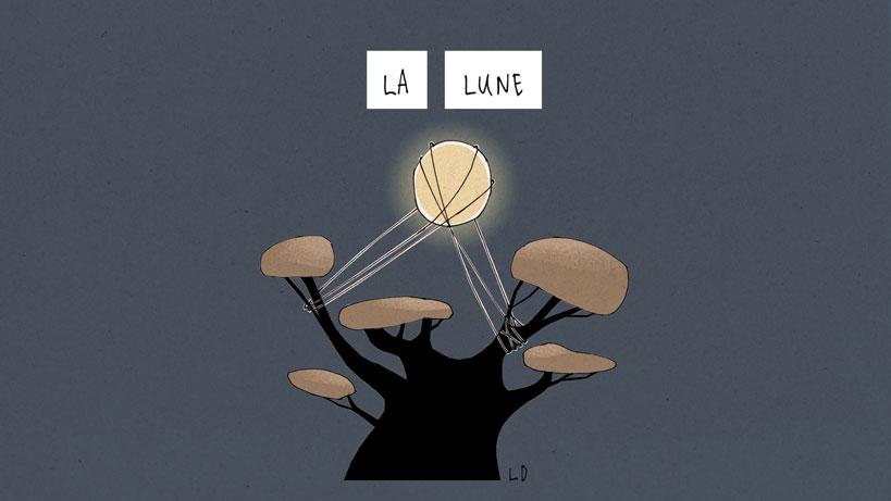 La Lune - Les Frères Grimm
