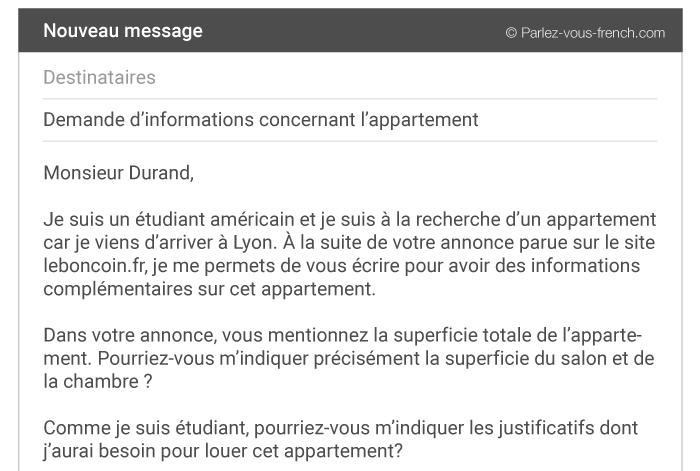 Comment écrire Un E Mail Formel Parlez Vous French
