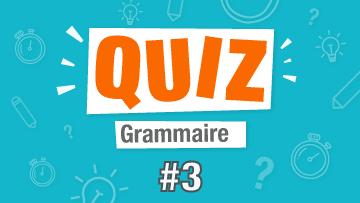 quiz français grammaire