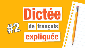 Dictée en français