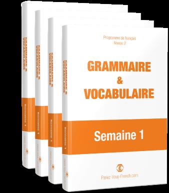 EBooks cours de français intermédiaire