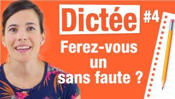 Dictée de français corrigée