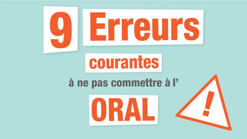 9 Erreurs courantes à ne plus commettre en français