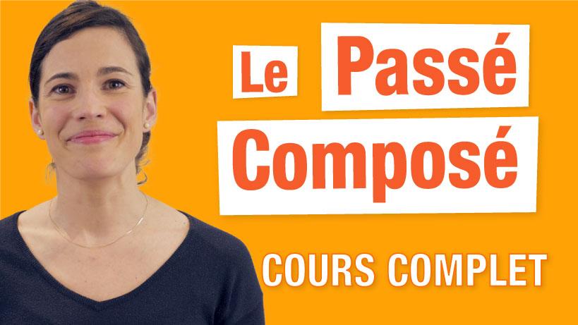 Le passé composé en français