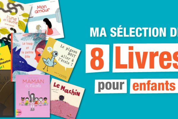8 Livres enfants en français